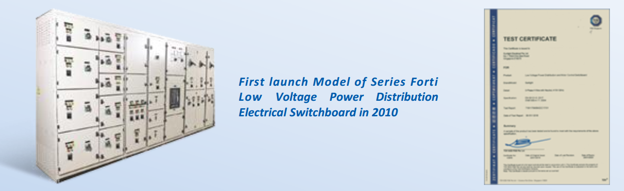 Series Forti Low Voltage Power Distribution Electrical Switchboard