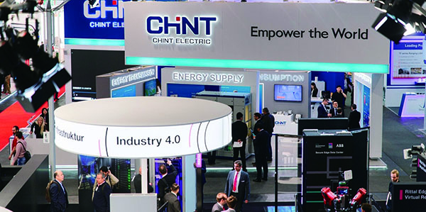 One Cloud & Two Nets: CHINT Intelligent Power in Hannover