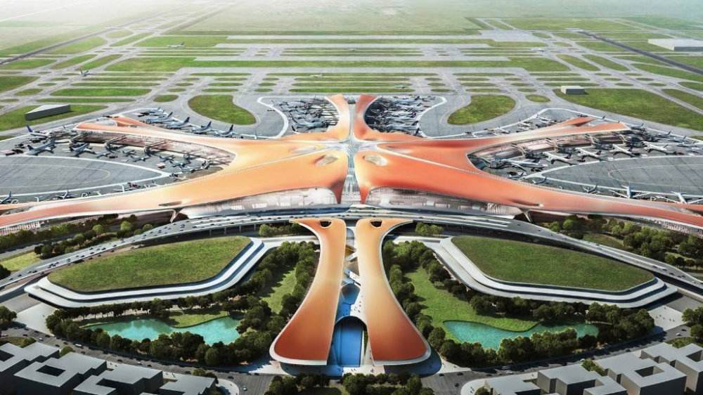 Officially open to air traffic: CHINT power in Daxing Airport