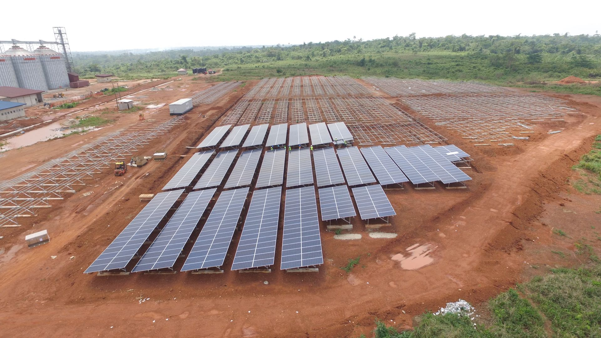 Another solar city! CHINT won the 2MW solar project in Ghana