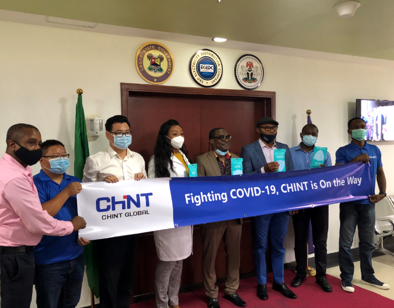 Unit as one to fight COVID-19, face masks donation by CHINT